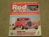 November 1981 Rod Action Magazine, Cam selection, 37 Ford, 32 Highboy, 37 Chevy
