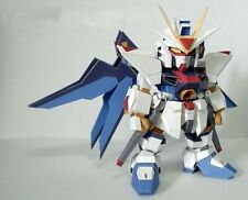 DIY Gundam ZGMF-X20A Strike Freedom Gundam 3D Paper Model Military Puzzle Kit