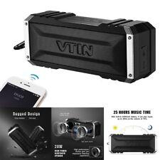 VTIN 20W Portable Bluetooth Stereo Bass Speaker Waterproof Soundbox
