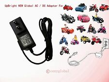 Power Charger for 6V Avengers, Spiderman & BMW i8 Cat Tractor Ride on Car Cord