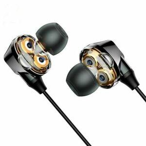 4 SPEAKER WIRELESS STEREO BLUETOOTH HEADSET HEADPHONES EARPHONE SPORTS GYM BASS