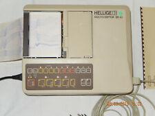HELLIGE MULTISCRIPTOR EK43 EKG Gerät+Patientenkabel+Papier,geprüft,guter Zustand