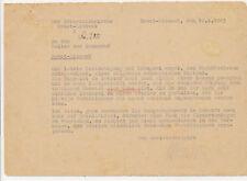 altes Dokument, Leiter der Brauerei Brest Litowsk, 1943 (N)19815