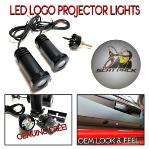 Lumenz CL3 LED Courtesy Logo Lights Ghost Shadow Dodge Scat Pack 100581