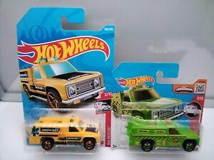 Hot Wheels Rescue / Rapid Responder - Ambulance - Emergency - Model Cars x2