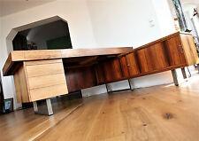 Scheibtisch Writing Desk Rosewood  Sideboard Palisander 60er 70er