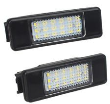 5D 2X License Plate Light Lamp 18 LED for PEUGEOT CITROEN C2 C3 C4 C5 3008