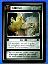 Star Trek CCG   BORG KISS (1st Contact) Interrupt  Data