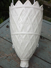 RARE Belleek China  Wall Pocket Vase Limited Edition Fully stamped