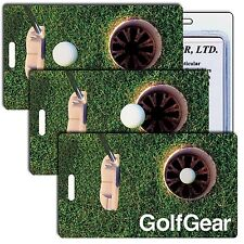 Golf Luggage Bag Travel Tag Lenticular Animated Rolling Hole-in-One  #LT01-218#