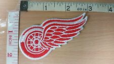 NHL DETROIT RED WINGS Logo embroidered Iron on Patch High Quality Shirt Bag