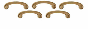 Wood Bed Headboard or Feature Joinery Onlay Rails - Set of Five in Pine, PNX454