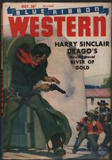 Blue Ribbon Western 1945 October.   Pulp