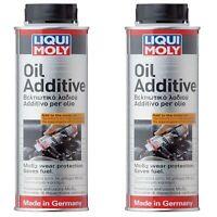 2 x Liqui Moly MoS2 Low-Viscosity Oil Additive 300ml German Technology 2591