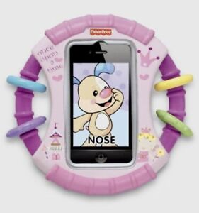Fisher-Price Laugh & Learn Apptivity Case PINK Once Upon a Time 6+M ~ New in Box