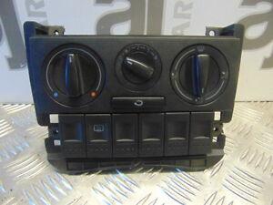 VW POLO 6N2 2001 MODEL 1.0 MPI 3 HEATER CONTROL DIALS NONE AIR CON 6N0858305C