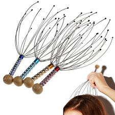 New Head Neck Scalp Massager Massage Octopus Equipment Stress Release Relax Tool