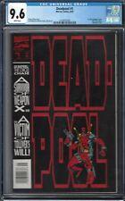 Deadpool: The Circle Chase #1 CGC 9.6 1993 1st Solo Deadpool Comic