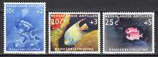 Dutch Antilles - 1960 Fight cancer / Reef fish / Diving Mi. 110-12 MNH
