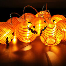 1.2m LED Battery Halloween Skull Pumpkins Fairy String Lights Party Decorations