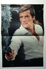 ✩✩✩ Roger Moore ✩✩✩ Bravo 1974 A3 Poster (070)