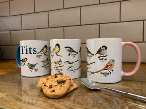BIRD MUG - BIRD TRAVEL MUG - BIRD TIN - ORNITHOLOGY GIFT