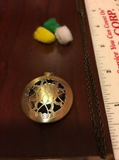 Bronze Flat Diffuser Necklace~with FREE young living essential oil Sample~LOOK!!