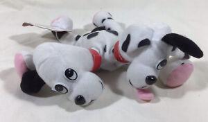 MEANIES Series 1 2-Headed Dog Fi-Do The Dalmutation Plus Bean Bag Toy 1997