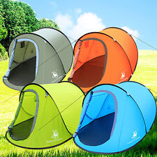 Camping Hiking Easy Setup Outdoor Large Pop Up Tent Quick Shelter Christmas Gift