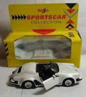 MAISTO SPORTS CAR COLLECTION - 1:38 DIECAST - PORSCHE 911 SPEEDSTER - BOXED