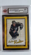 Alexander Ovechkin 2005-06 Beehive GOLD Rookie Card KSA Graded 10!!!