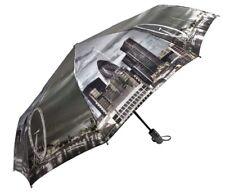 LONDON Ojo Auto Abierto & Cierre Paraguas Plegable, a prueba de viento paraguas De Lujo 925