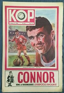 Liverpool FC  -  KOP Newspaper  -  January 17th 1968  -  Issue No 36