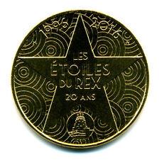 75002 Cinéma Le Grand Rex, Les Etoiles du Rex, 1996-2016, 2016, Monnaie de Paris