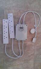 Grow Light Contactor 8 Way Built In Digital Timer Hydroponics Discharge Lighting