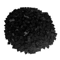 250 Schwarze Lego Steine 2x2 - Bausteine (Classic, Star Wars, City usw.)
