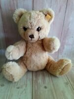 Steiff Petsy Teddy Bear Full Jointed Woven Blond With Tag 15""
