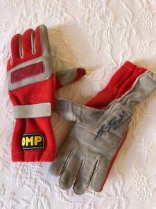 1996 Michael Schumacher British GP race used OMP gloves