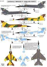 Berna Decals 1/144 DASSAULT MIRAGE F1 IRANIAN AIR FORCE