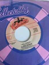 Gloria Gaynor I Will Survive/Love Theme Love Unlimited Orchestra COLLECTIBLES 45