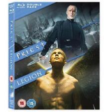 Priest / Legion Double Pack [Blu-ray] [Region Free], Very Good DVD, Dennis Quaid