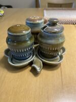 Vintage Wade Irish Collectable Salt/Pepper/Toothpick 4 Piece Set