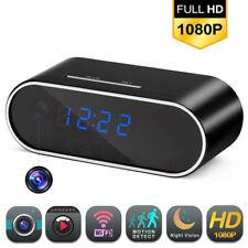 HD 1080P Wireless Wifi IP Spy Hidden Camera DVR IR Audio Recording Alarm Clock