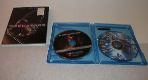 Predators Blu-ray Disc, 2010, 2-Disc Set, Includes Digital Copy & Bonus Requiem