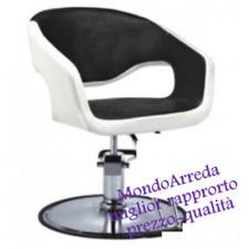 Sedia poltrona parrucchiere poltrone parrucchieri 8960 alzabile uso professional