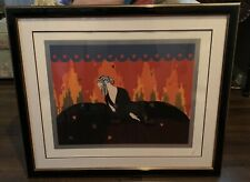 ERTE Signed Serigraph Memories Limited Edition Hand Signed and Numbered