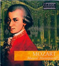 Mozart Musical Masterpieces: The Classic Composers CD booklet *NEW & SEALED
