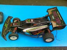 Vintage Black Wolf Buggy RC Radio Controlled 2WD  spares or repair