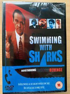 Natation Avec Sharks DVD 1994 Boss From Hell Culte Comédie Classique Bnib