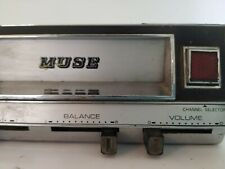 Vintage Muse 8 Track Player Car
